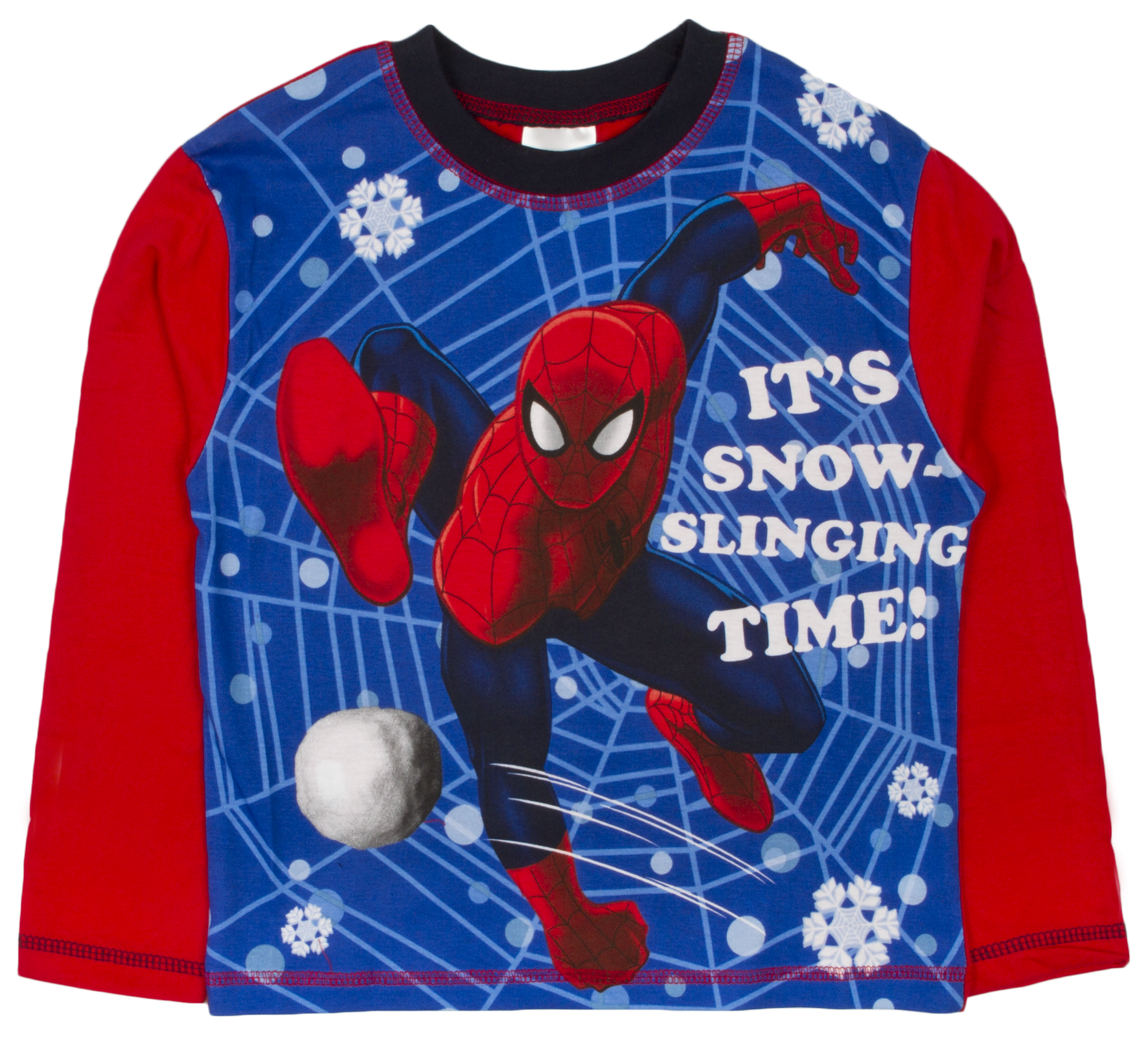 kids boys pyjamas marvel spiderman pyjama set 2 piece pjs long size 1 10 years ebay. Black Bedroom Furniture Sets. Home Design Ideas