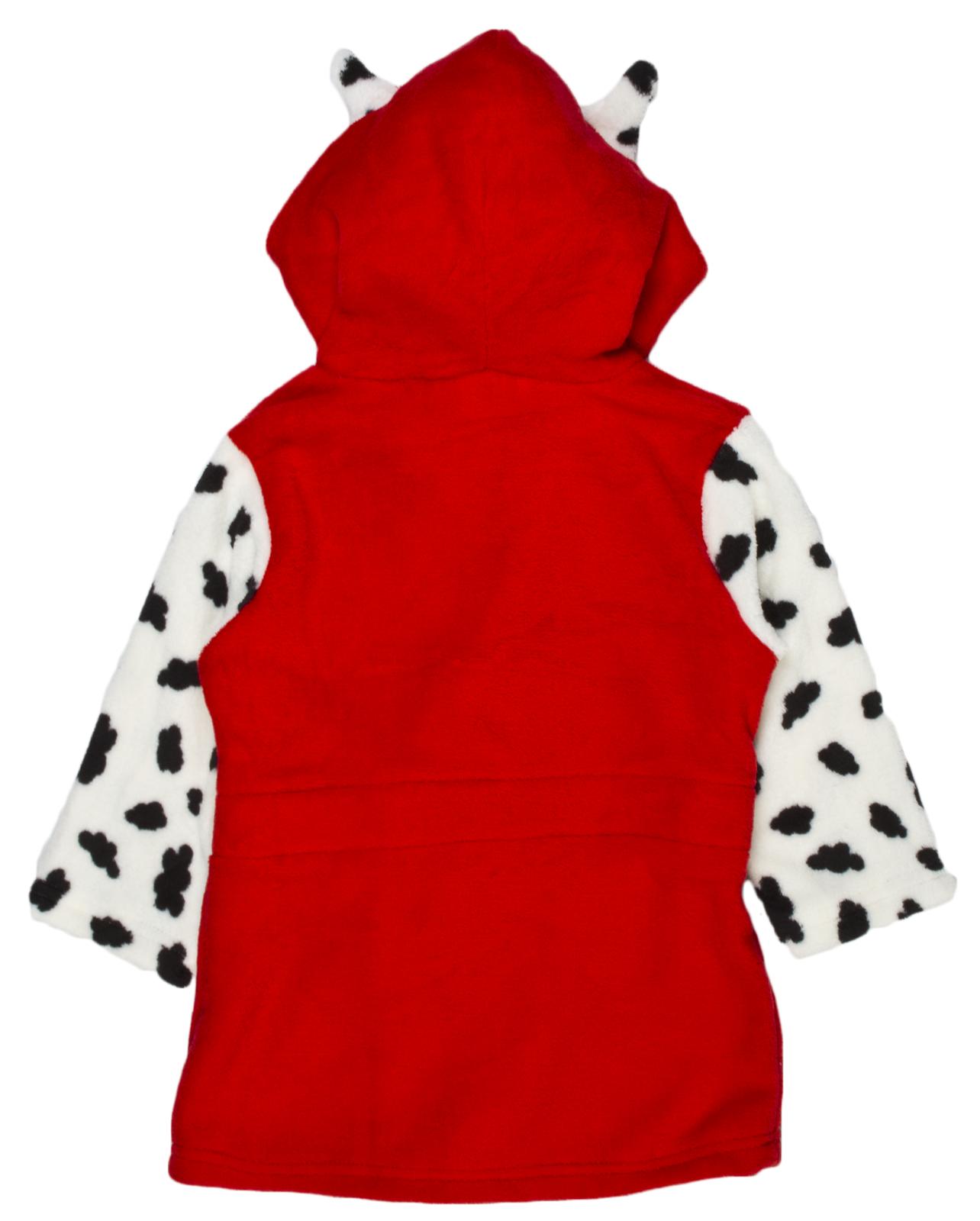 Paw Patrol Hooded Fleece Dressing Gown Novelty Skye Marshall Bath