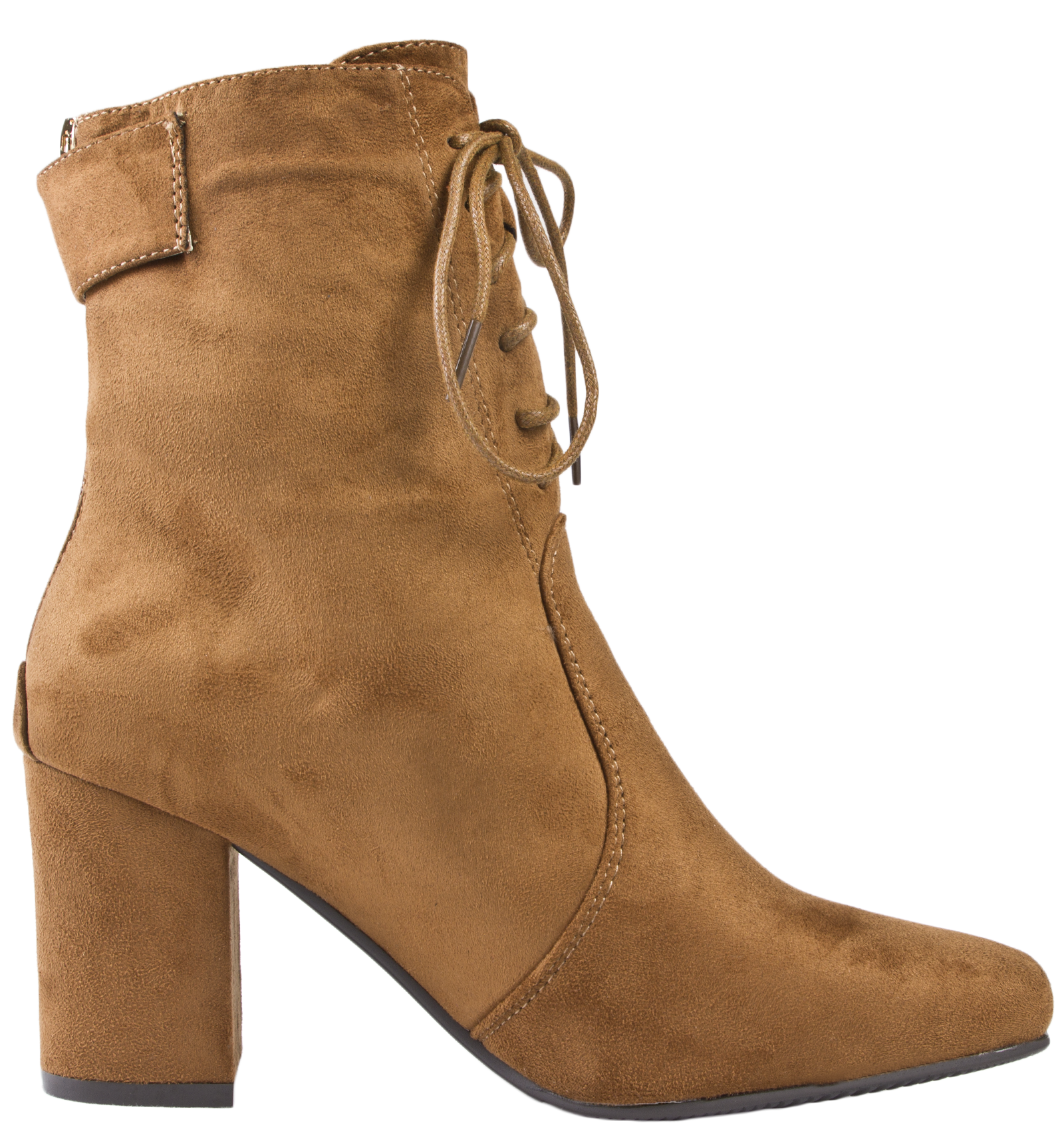 Perfect Guidi - Chunky Heel Ankle Boot - Women - Leather/suede - 36 In Brown | Lyst