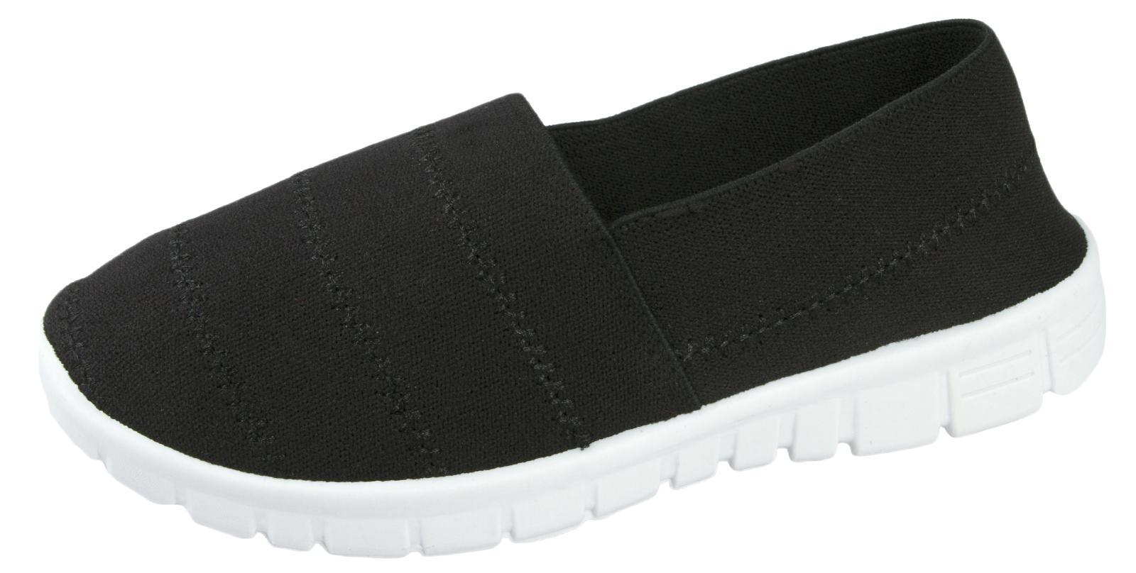 Zapatillas para mujer chicas Completo Elástico Elástico Flexible Deportes Zapatos De Salón Talla