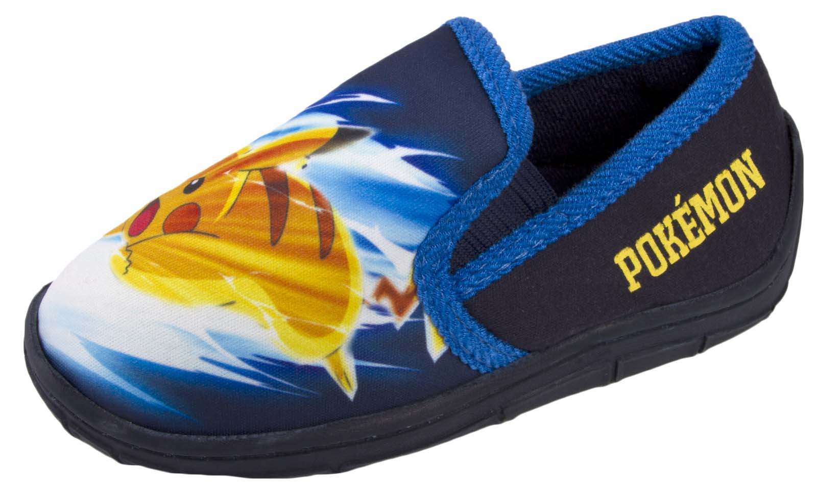 Chicos Zapatillas De Pokemon Pikachu Slip On Mulas Zapatos de Casa de Confort Tamaño para niños de regalo