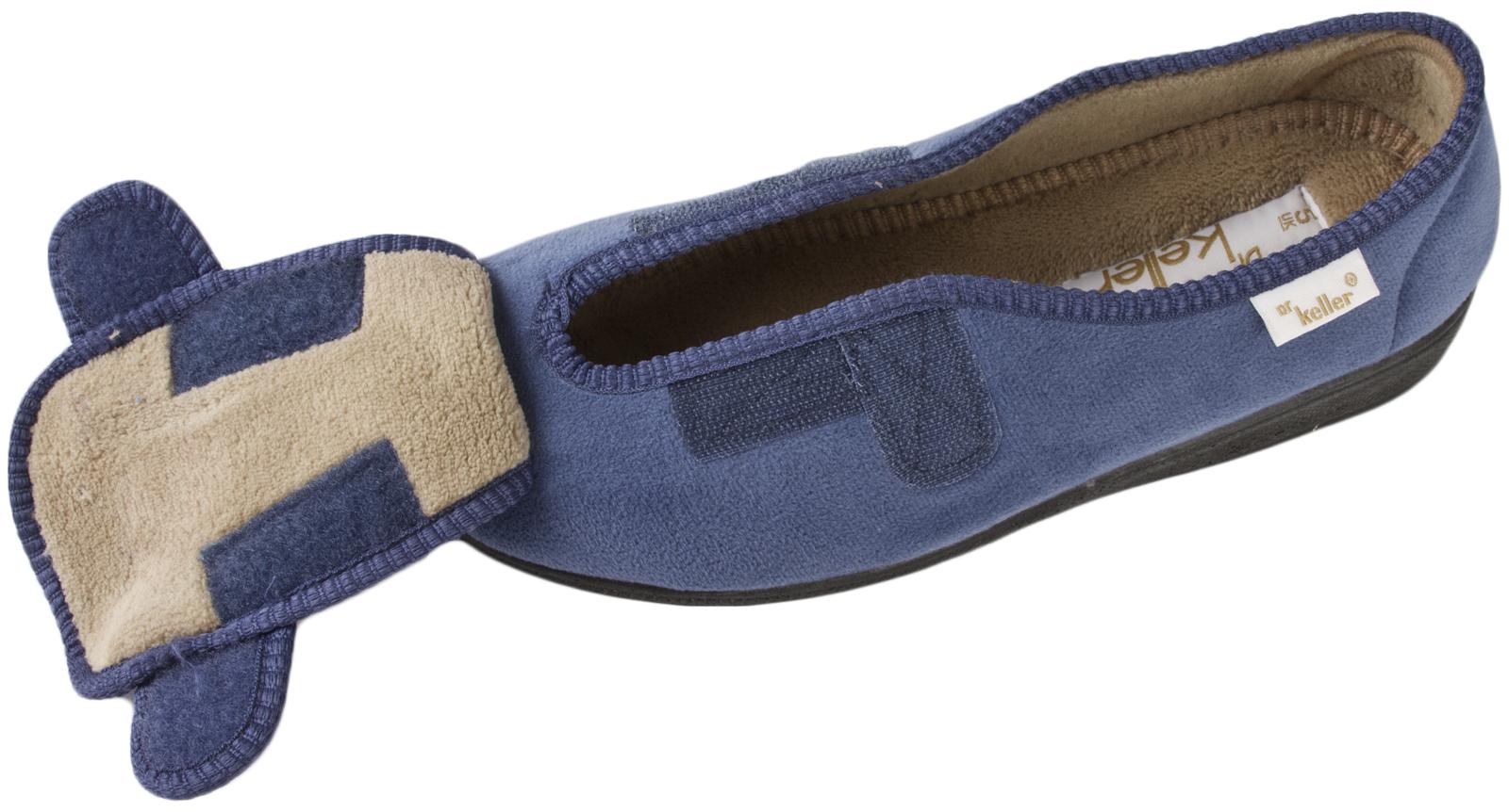 Para Mujer Zapatillas de espuma de memoria de ajuste ancho diabética lavable comodidad Zapatos ortopédicos