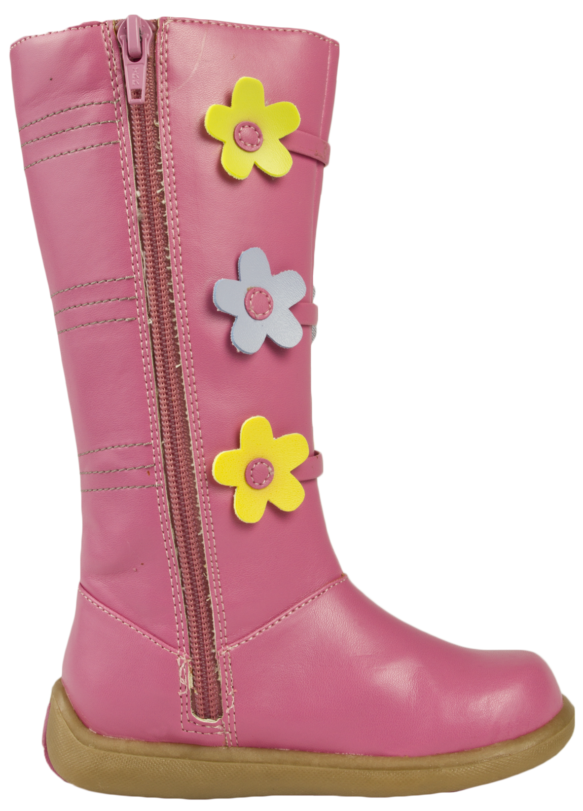 Girls fifi and the flowertots knee high boots faux leather pink girls fifi and the flowertots knee high boots mightylinksfo