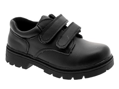 Toddler Boys Black Dress Shoes on Kids Boys Black Leather School Shoes