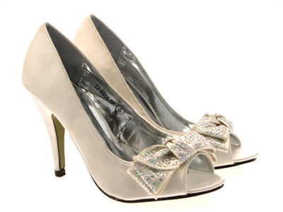 BRIDAL-WEDDING-SATIN-LADIES-HEELS-PEEP-TOES-SHOES-3-8