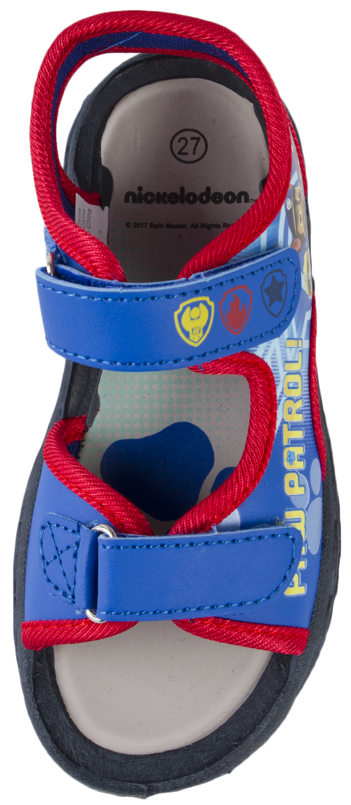 Paw Patrol Sports Sandals Fully Adjustable Straps Flat Shoes Boys Kids Size