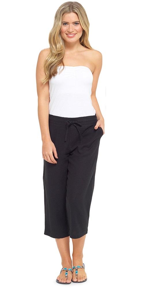 Luxury Aliexpress.com  Buy 2017 Casual Cotton Linen Wide Leg Pants Women Plus Size Vintage Elastic ...