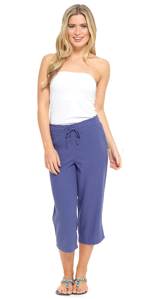 Free shipping and returns on Women's Linen Crops & Capri Pants at sisk-profi.ga