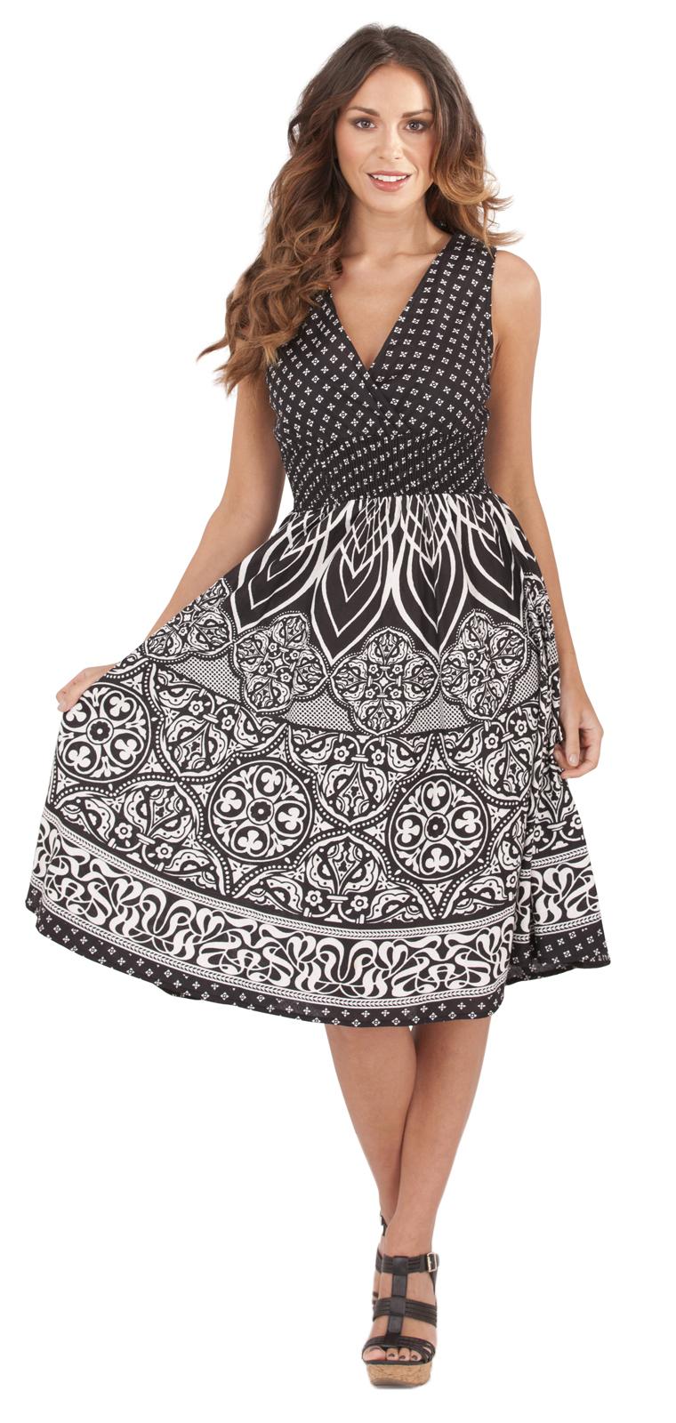 a88a4b4a364 Black Plus Size Dresses 18 16 14 Women Trendy Sleeveless