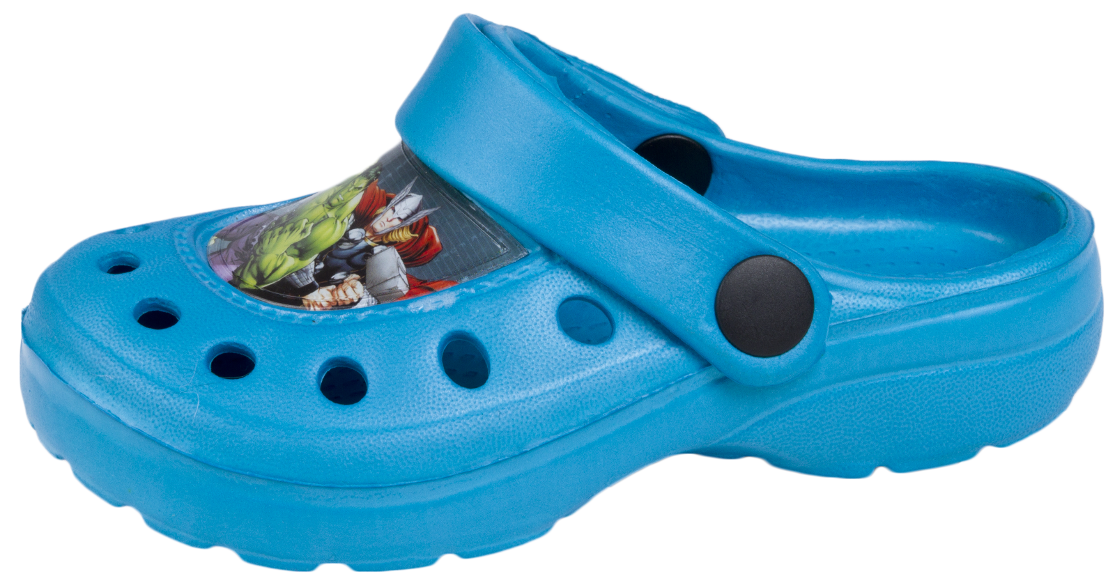 Chicos Zuecos Mulas Sandalias De Playa De Los Vengadores Iron Man Capitán América Zapatos Niños Talla
