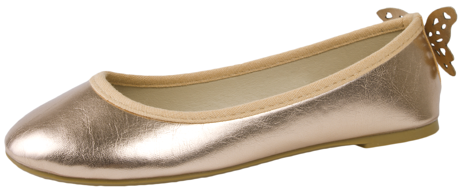 Bridal Shoes Wide Fitting Rose Gold