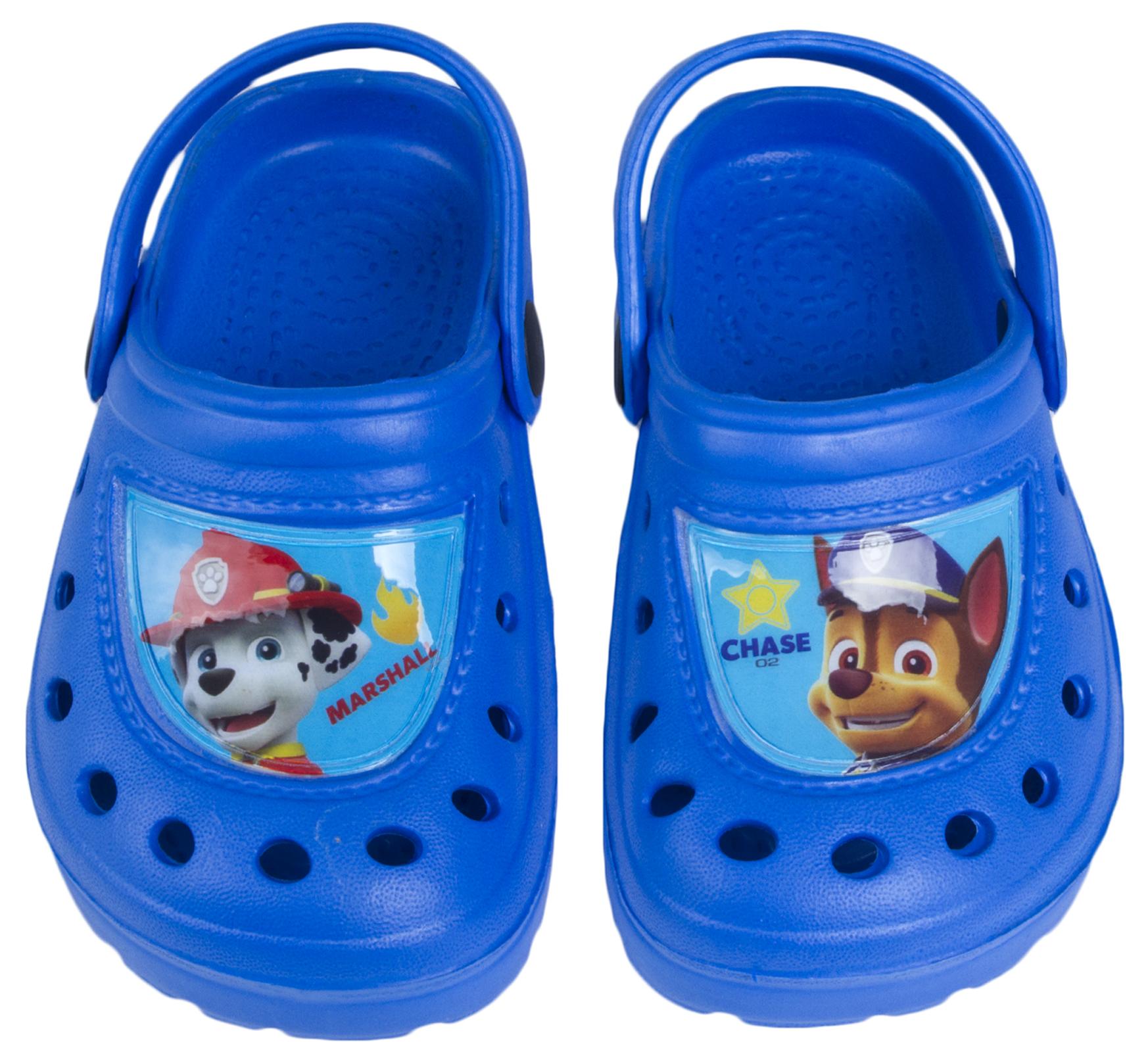 Paw Patrol Clogs Boys Girls Beach Sandals Flat Shoes Mules Kids Chase Skye Size
