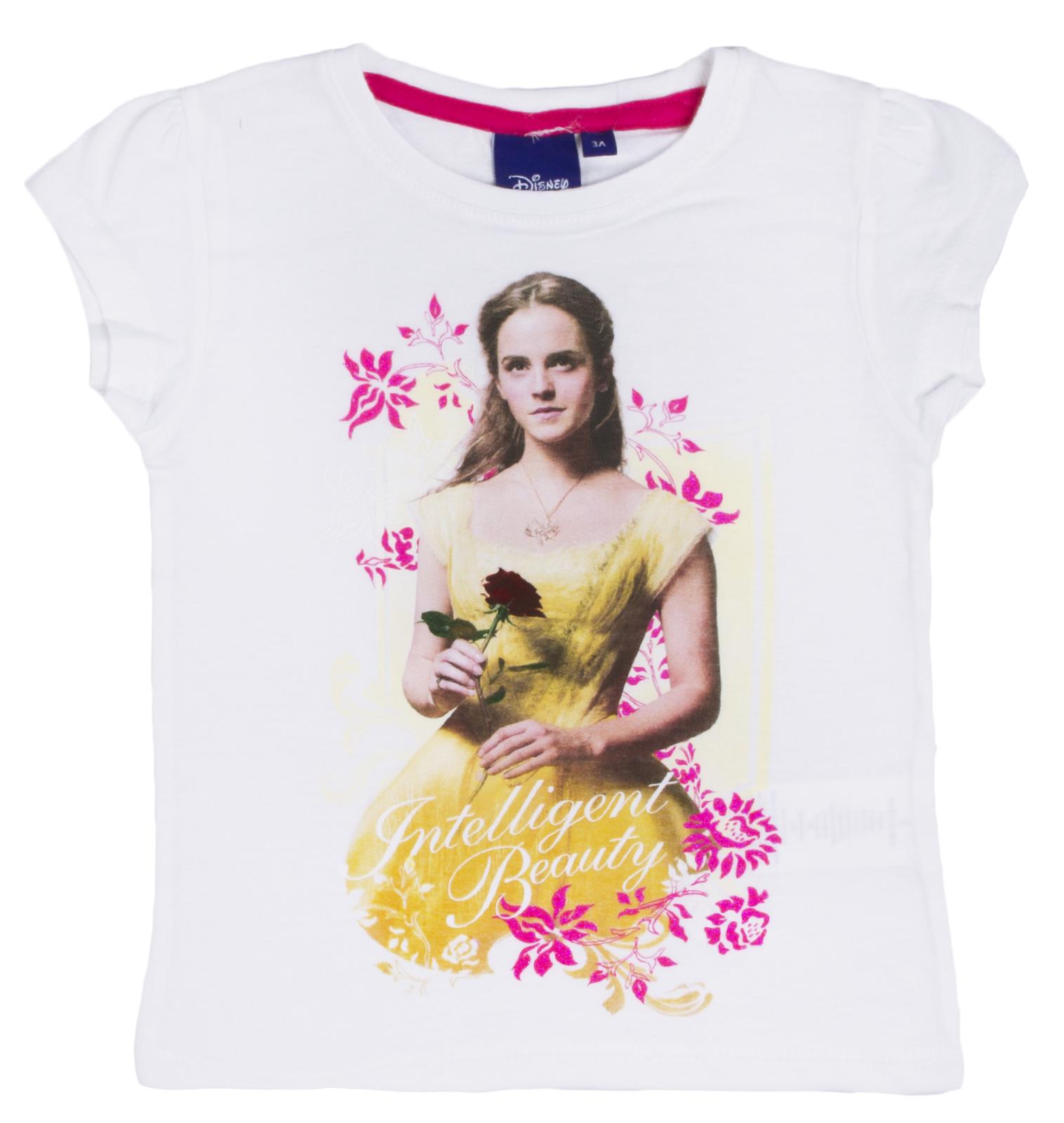 Girls Disney Princess Belle T Shirt Beauty And The Beast Short