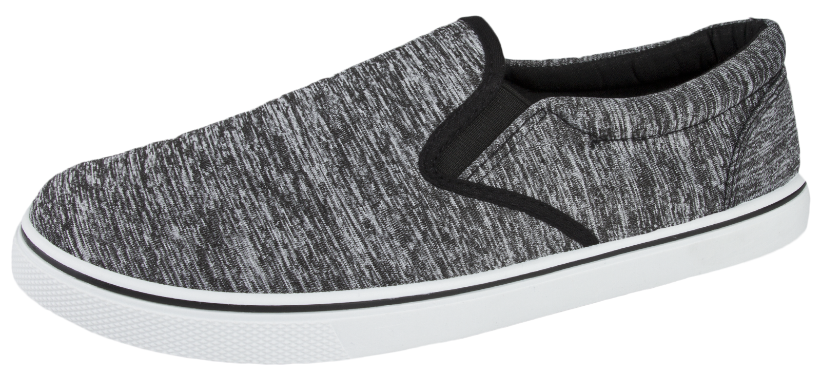 Mens-Canvas-Plimsolls-Slip-On-Flat-Pumps-Trainers-Casual-Gym-Shoes-Boys-Size