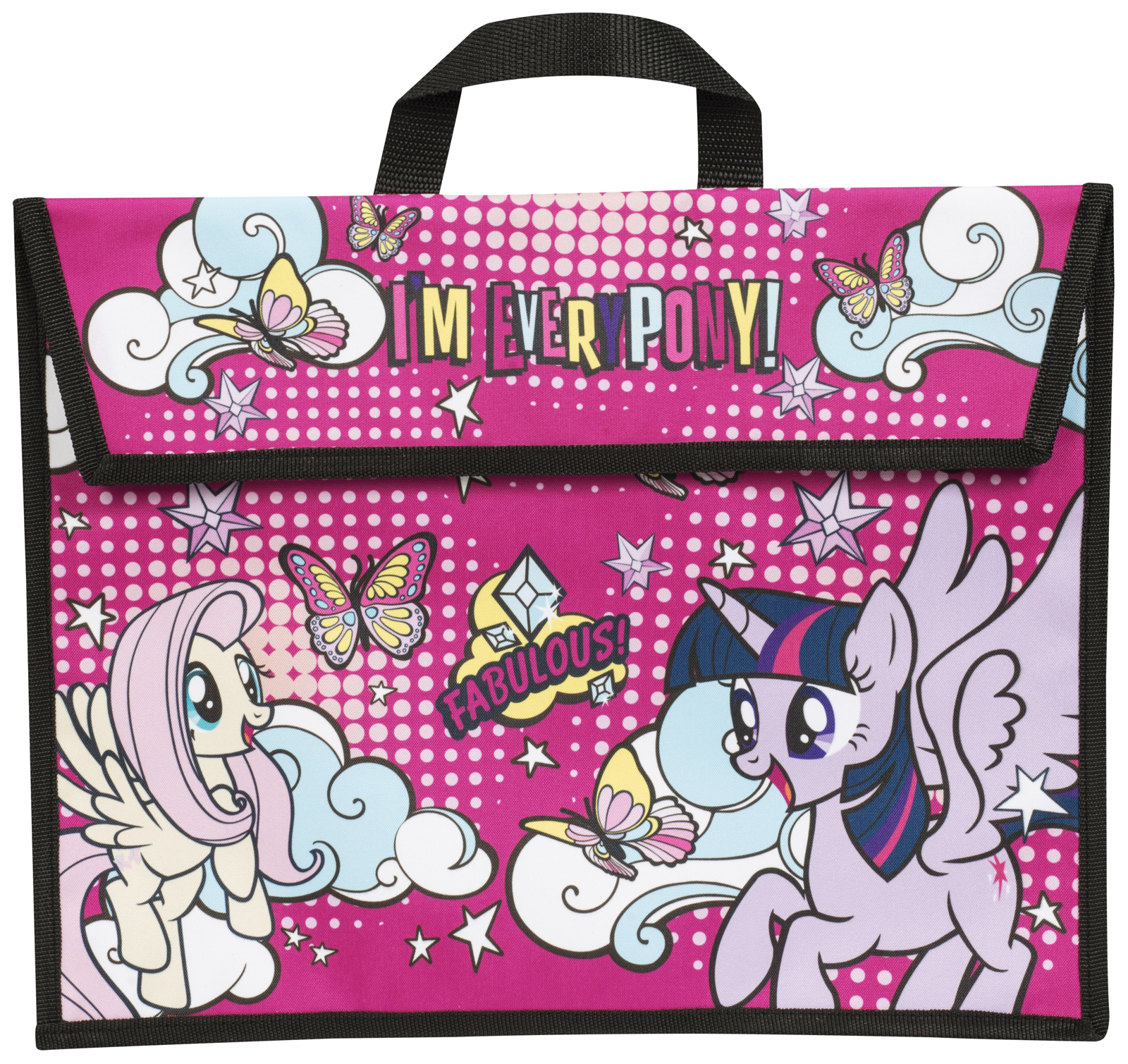 kids my little pony school book bag girls reading bag rainbow