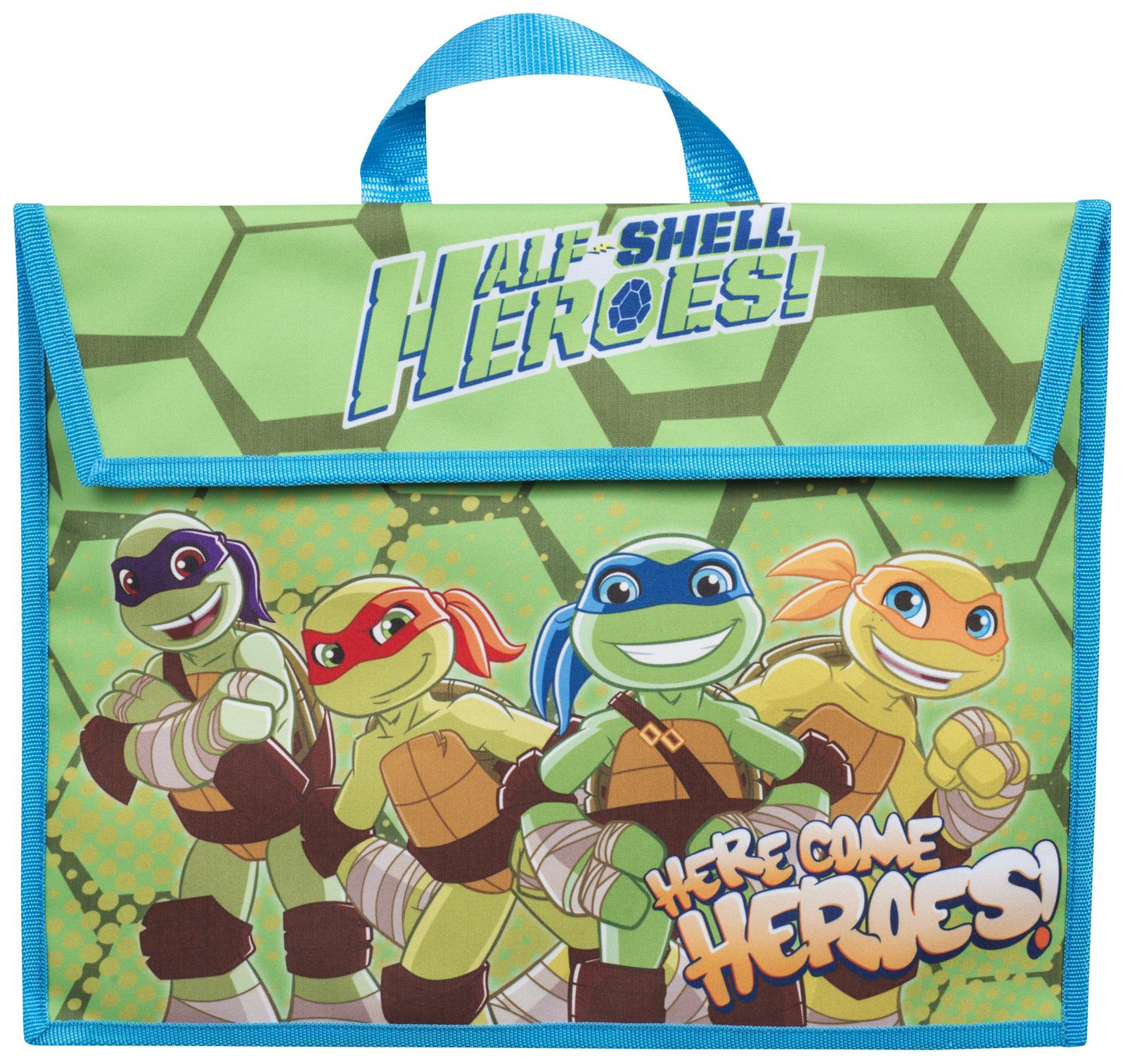 kids teenage mutant ninja turtles school book bag boys tmnt