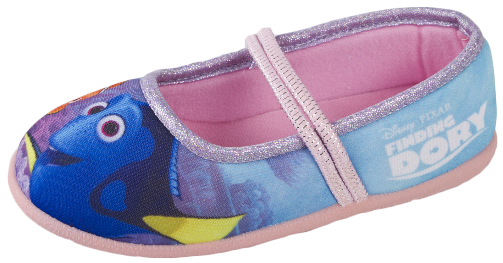 Disney Finding Dory Nemo Mary Jane Ballet Slippers Girls Character Shoes Size