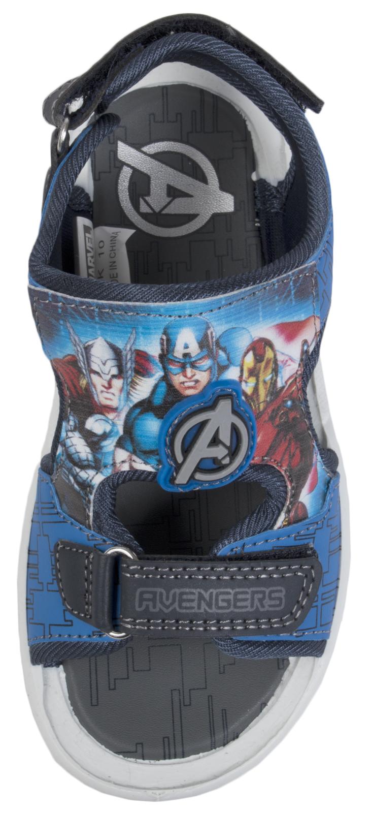 Avengers Sports Sandales réglable Vacances Plage Chaussures Iron Man Hulk Garçons Taille