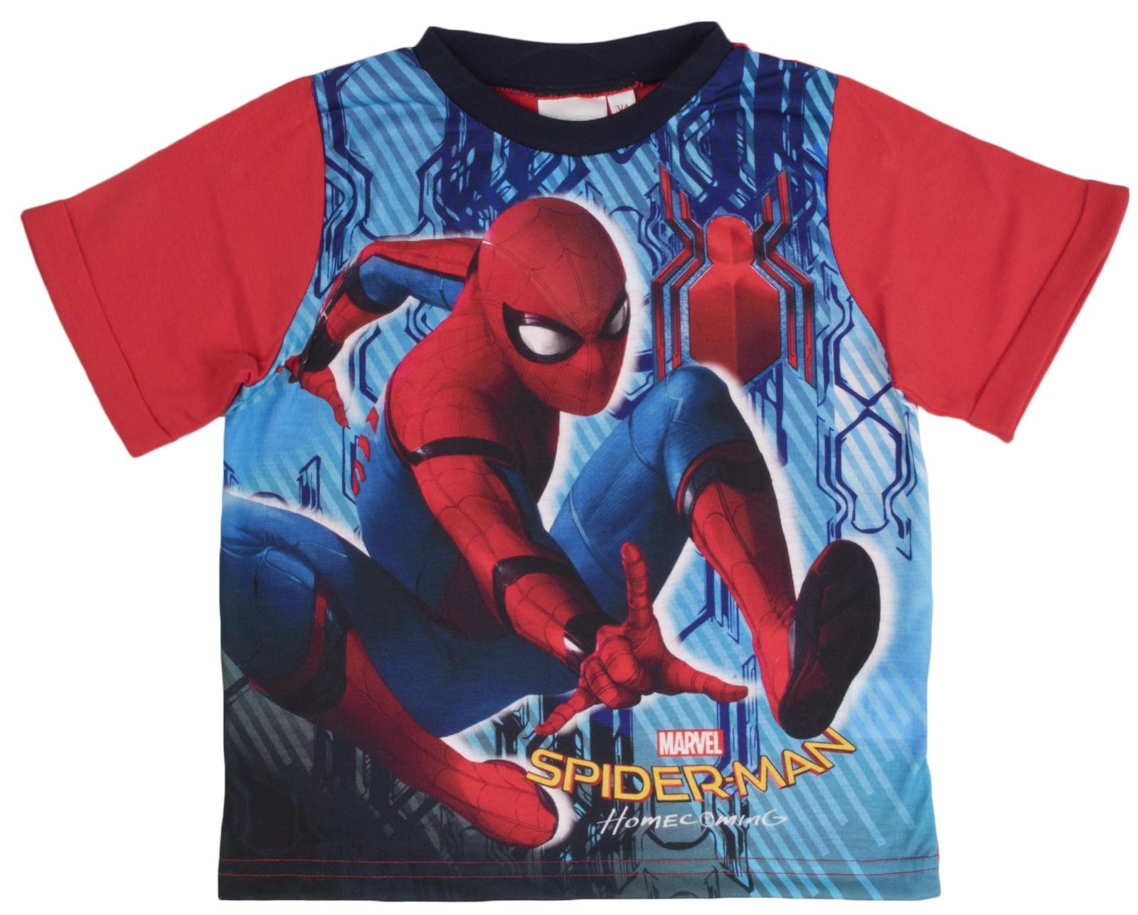 Ragazzi Ragazze Pigiama Spiderman corto PJs Pigiama estivo Set supereroe Bambino Taglia