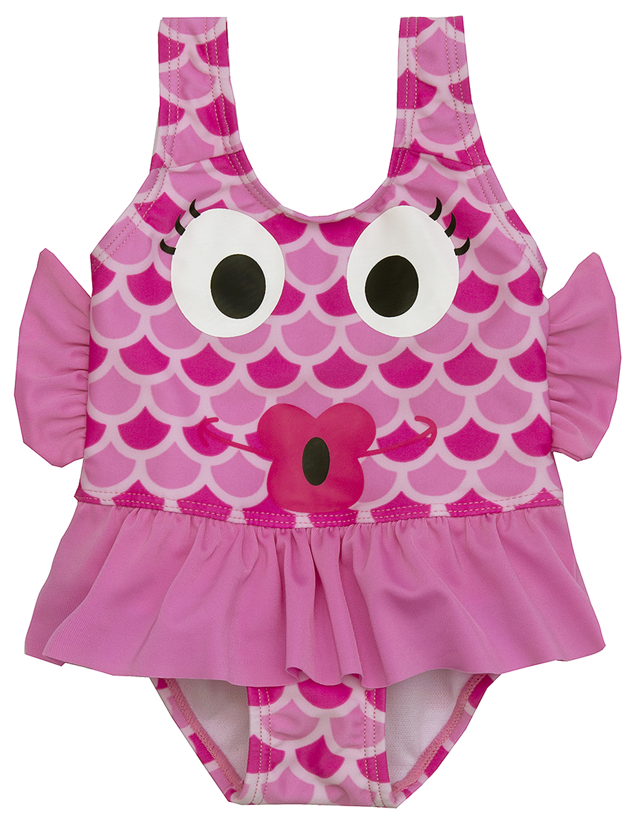 Cute Baby Girls Novelty Character Swimming Costume Toddlers Swim ...