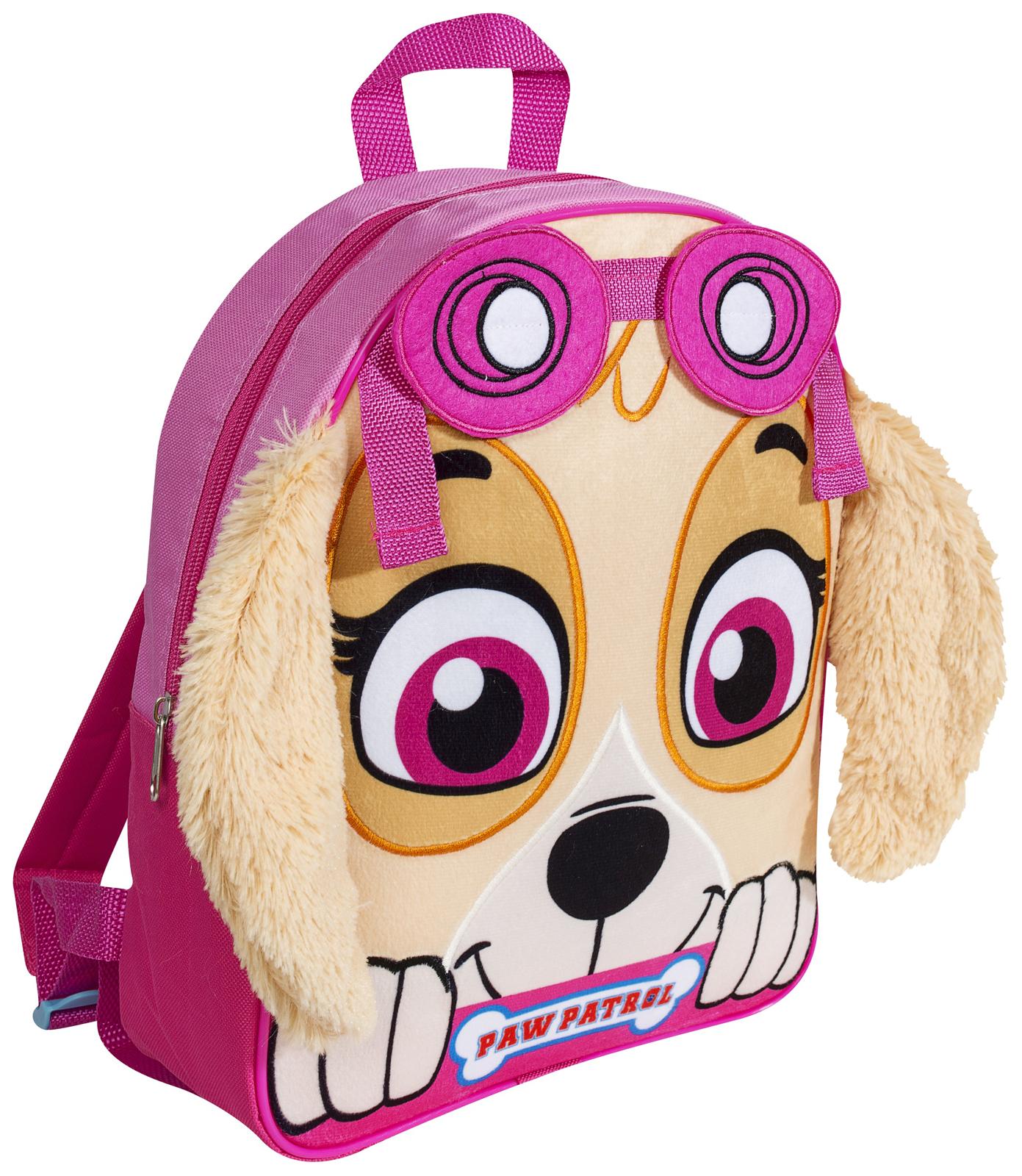 boys paw patrol 3d backpack chase soft plush school bag kids