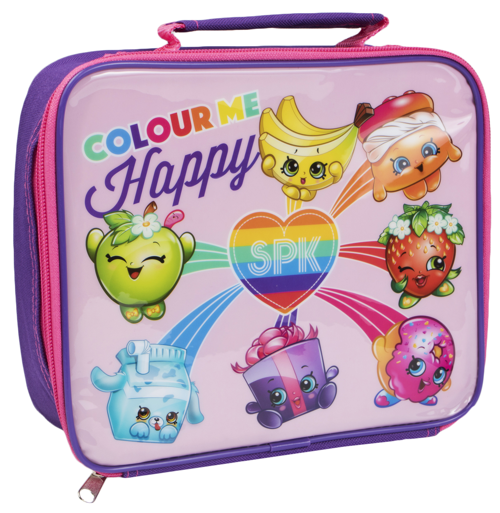 Shopkins Lunch Bag Girls School Travel Hand Bag Insulated