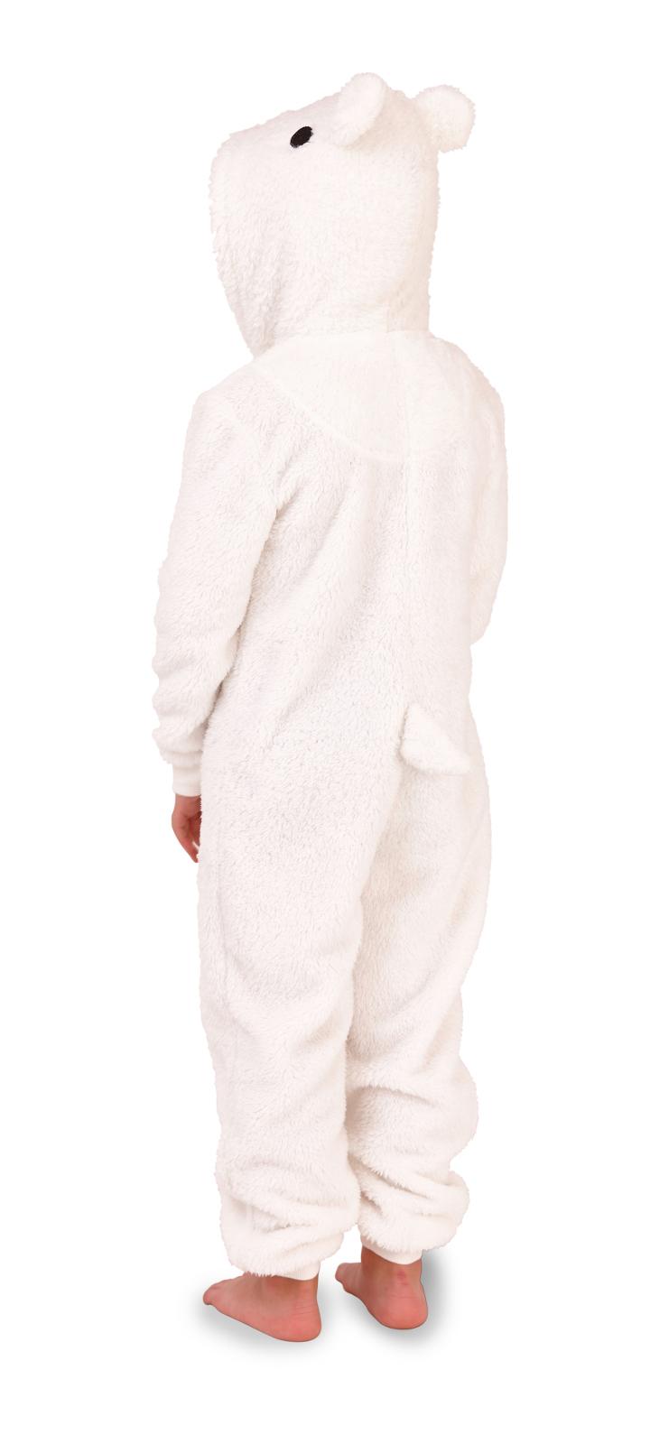 Boys Novelty Onezee Dress Up All In One Fleece Animal Character Pjs Kids