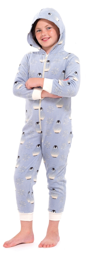 Girls Novelty Onezee Dress Up All In One Fleece Animal Character Pjs Kids