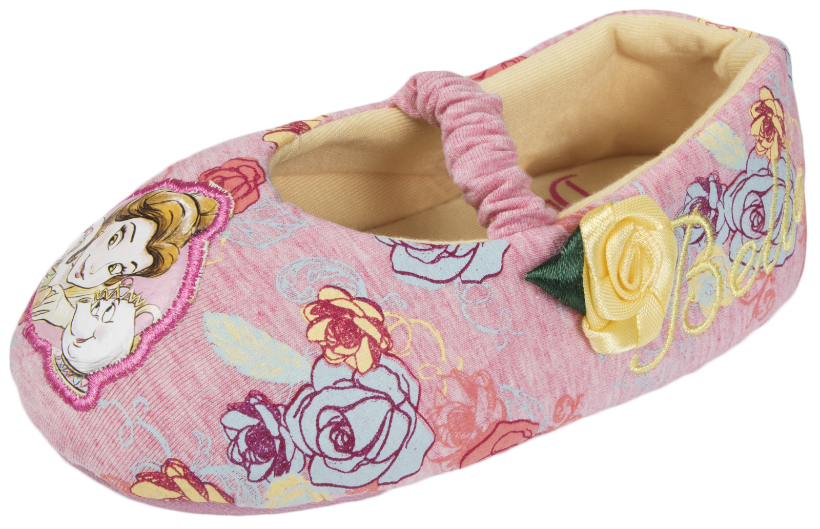 DISNEY Princess Pantofole Belle carattere Scarpine LA BELLA E LA BESTIA Tg UK