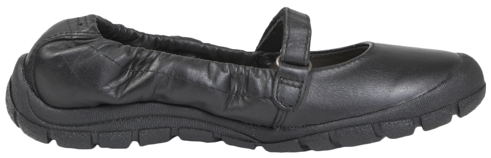 Ricosta Girls Leather Mary Jane Shoes Kids Black School Dolly Ballet Pumps Size