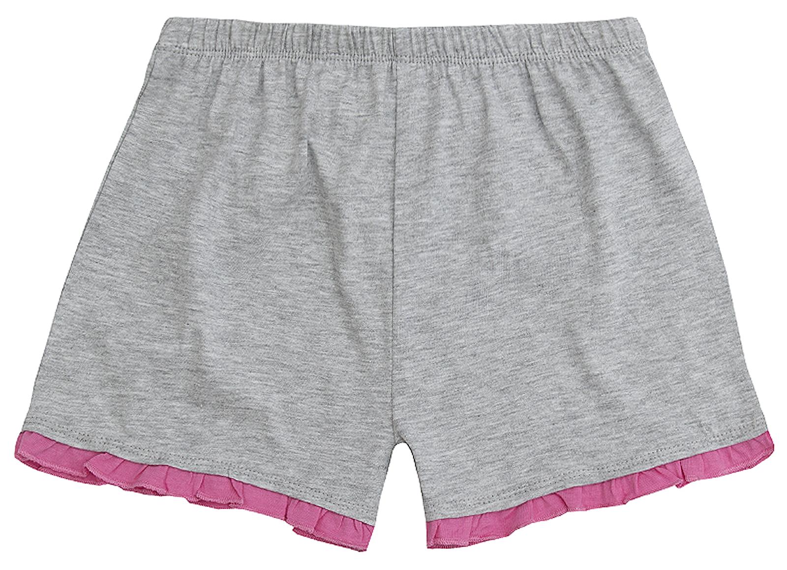 Girls Novelty Pyjama Set 2 Piece Short Summer Pjs T Shirt Shorts Kids Size