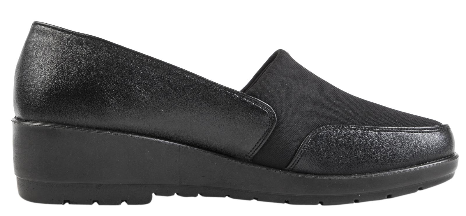 Womens Stretch Elastic Work Shoes Flat Memory Foam Comfort Shoes Ladies Size