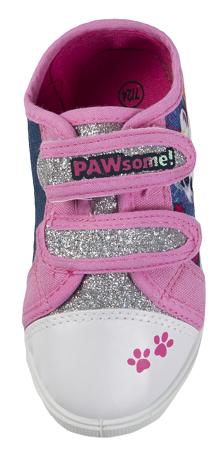 Paw Patrol Skate Shoes Skye Everest Canvas Pumps Girls Sports Trainers Size