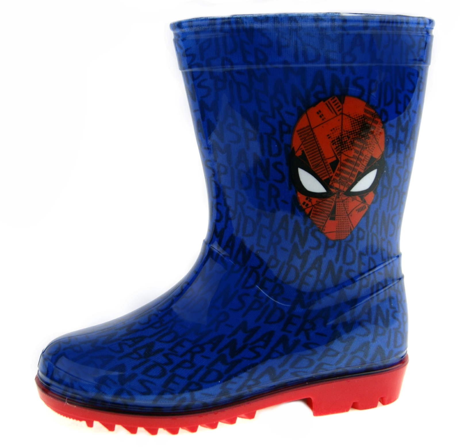 Garçons Spiderman Wellington Bottes Pluie Neige Bottes D/'hiver WELLYS chaussures enfant taille