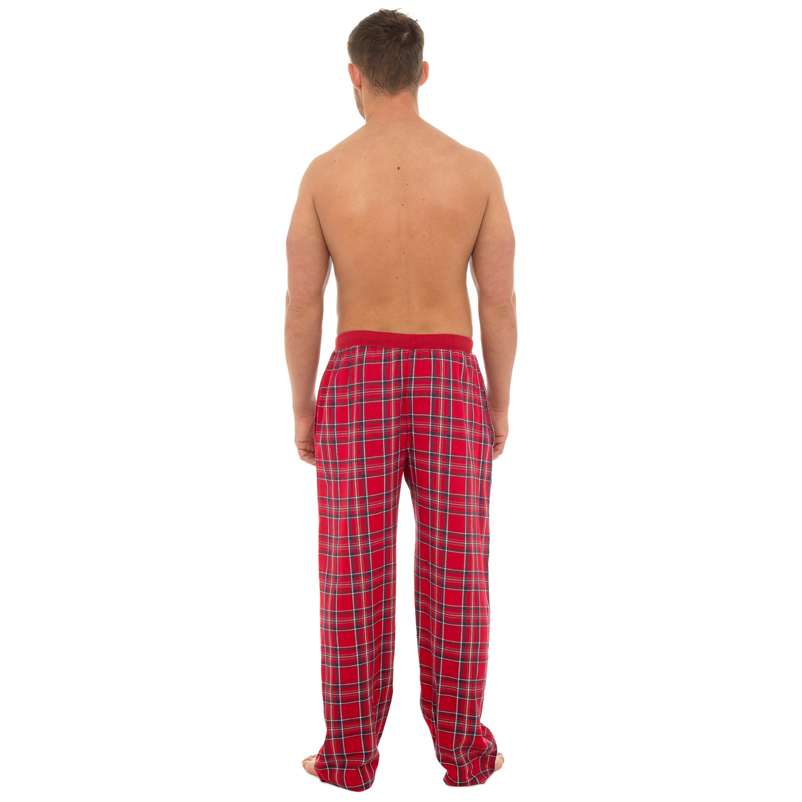 Mens 100/% Cotton Lounge Pants Casual Nightwear Pyjama Bottoms Xmas Gift Size
