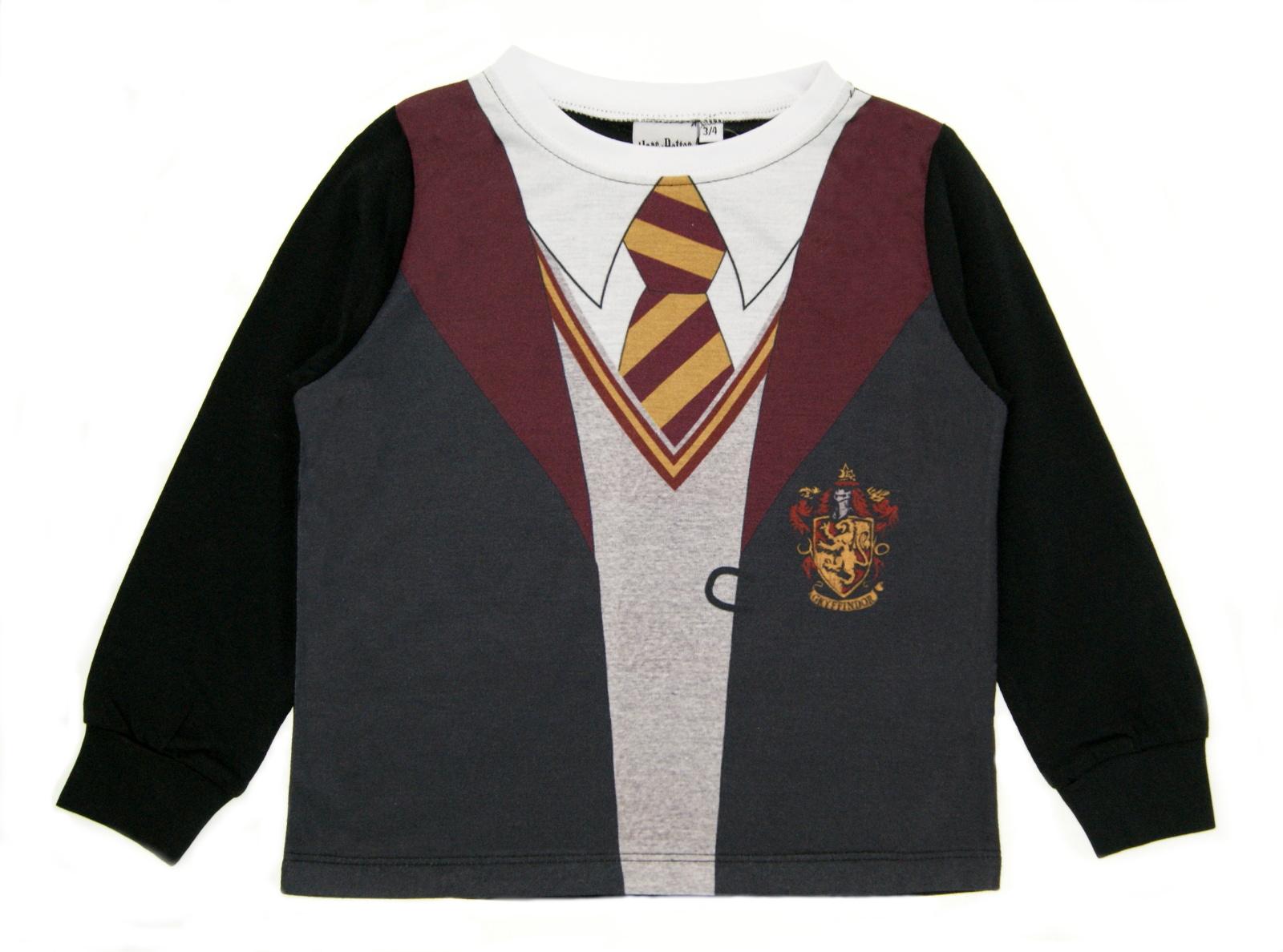 Boys Girls Harry Potter Uniform Dress Up Pyjamas Kids Novelty Hogwarts Long PJs