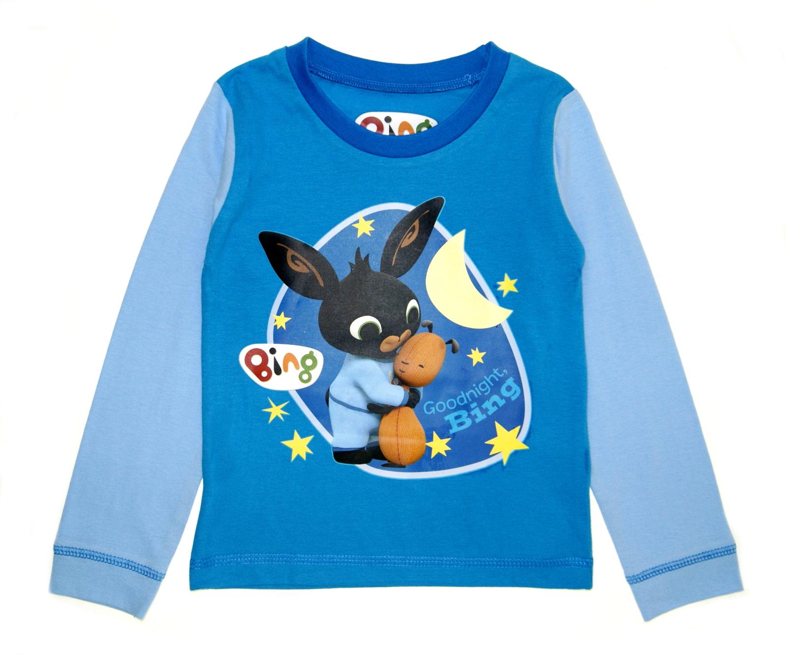Cbeebies Bing Pyjamas Boys Girls Full Length Pjs Set Character 2 Piece Kids Size