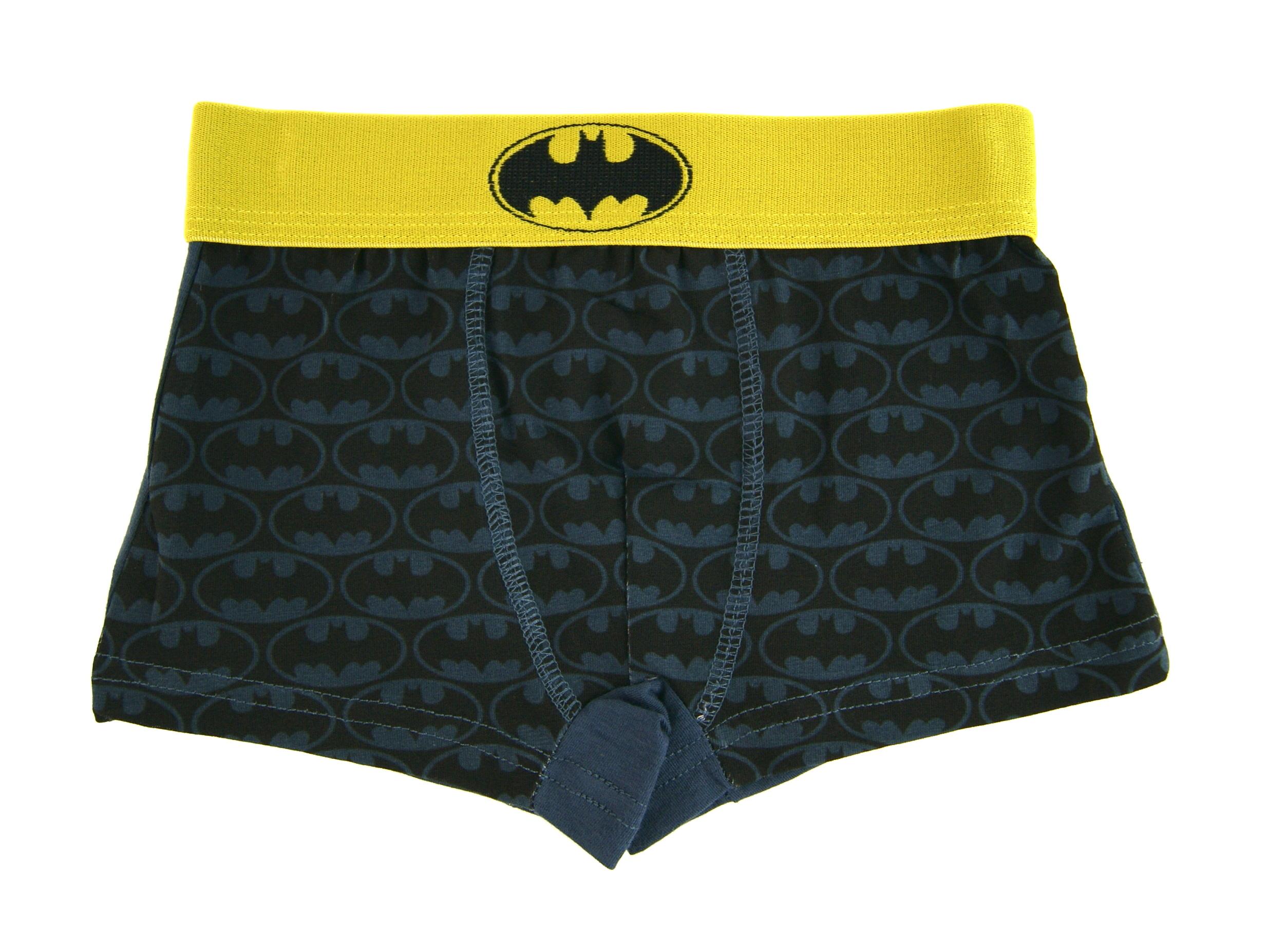 DC Comics Batman Ragazzi 2 Pack Boxer Ragazzi Biancheria Intima Slip Boxer Taglia