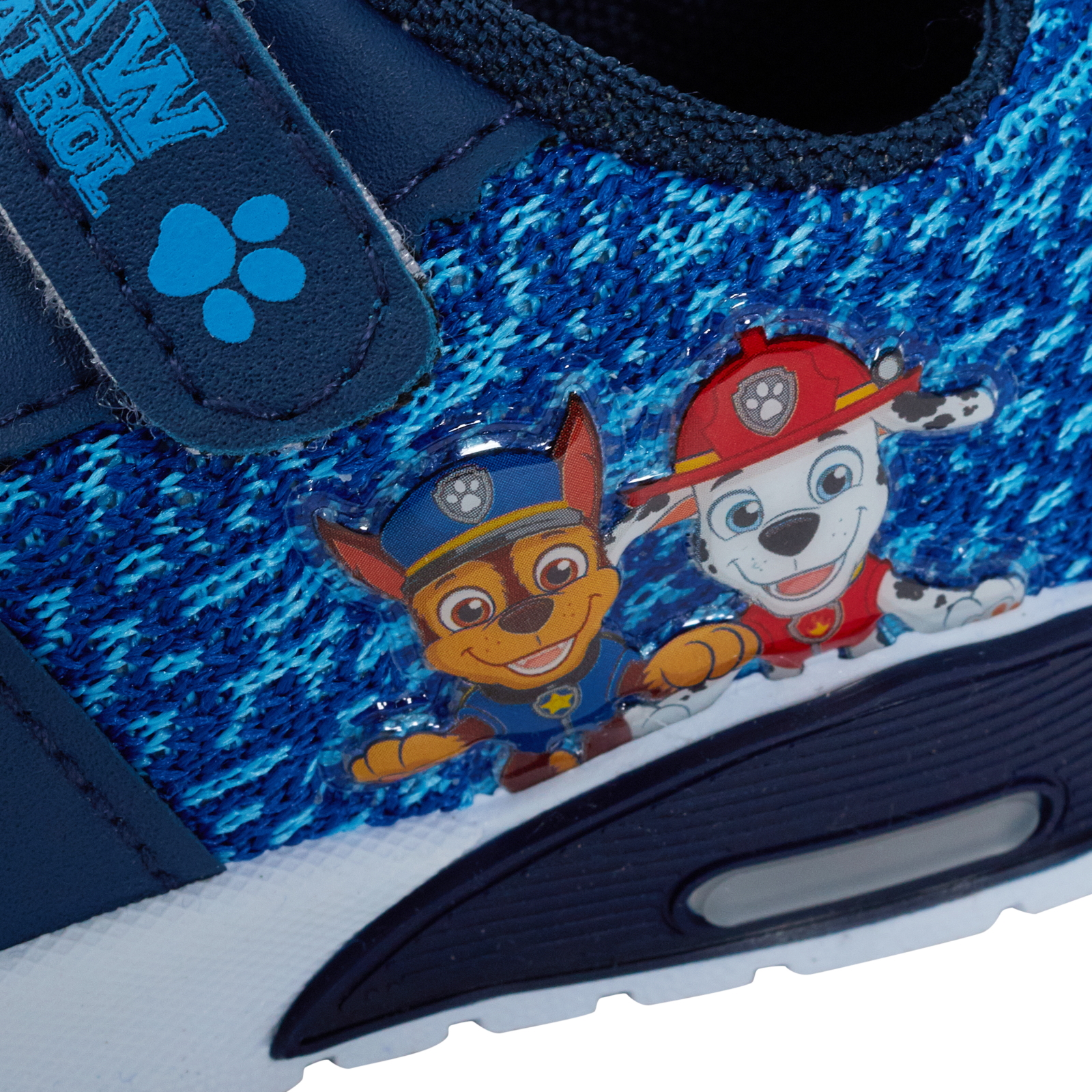Paw Patrol Boys Light Up Sports Trainers Kids Flashing lights Toddlers Infants