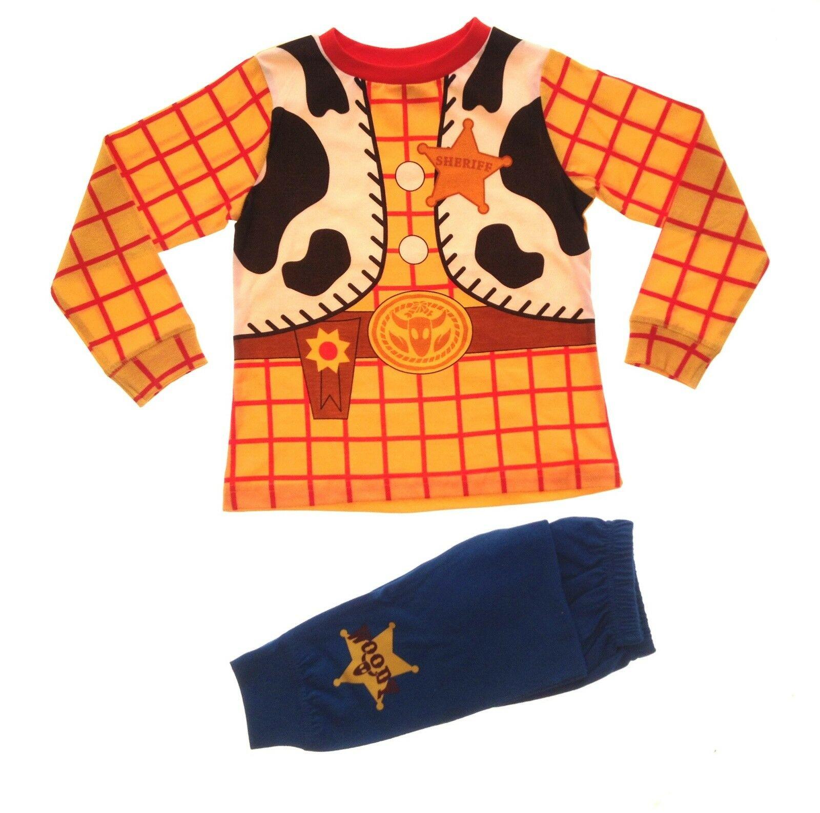 Boys Novelty Character Dress Up Pyjamas Kids Full Length Superhero Pjs Gift Size