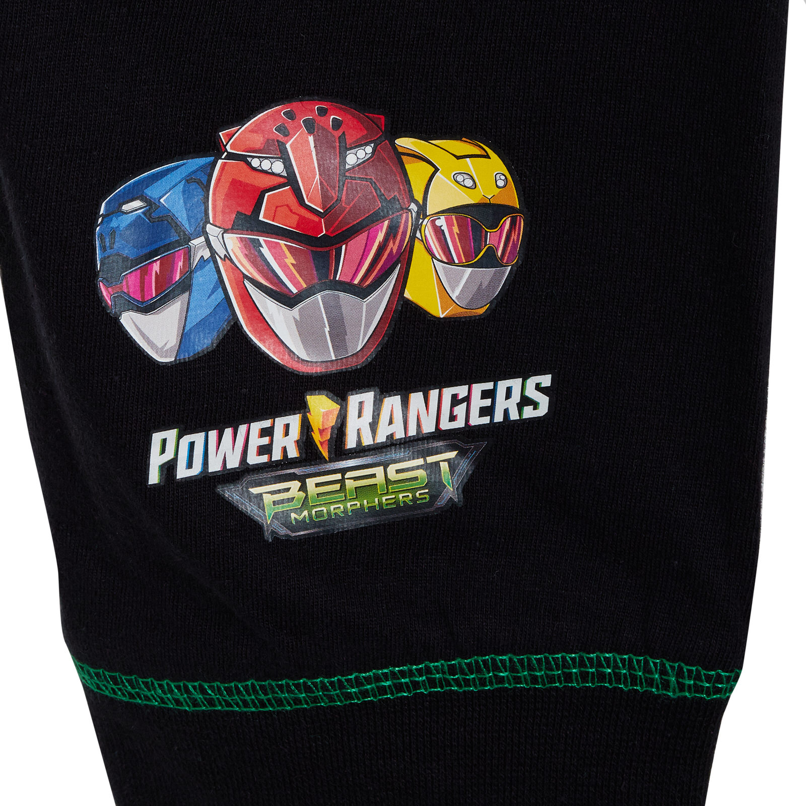 Boys Power Rangers Beast Morphers Full Length Pyjamas Kids Long Pj Set Nightwear