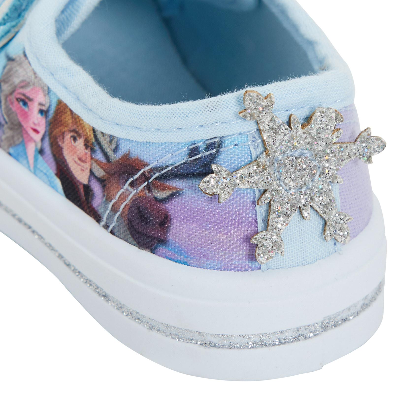 Ragazze Disney congelato 2 Pompe di tela Bambini Elsa Anna Low Top Scarpe Da Ginnastica Scarpe Da Ginnastica