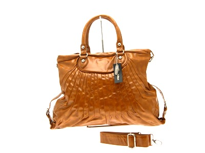 Shoulder  on Womens Tan Shoulder Patent Pu Leather Ladies Hand Bag   Ebay