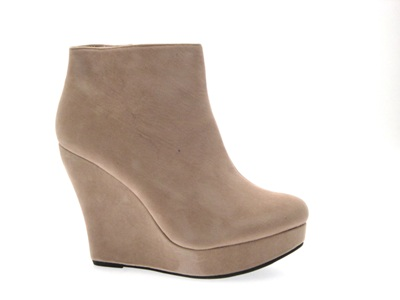 womens wedge ankle boots platform wedges faux suede