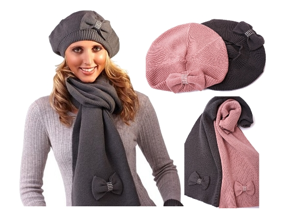 Ladies Hat And Scarf Sets  8073ddc5326