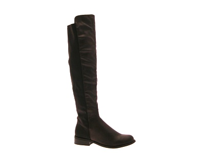 womens knee thigh high boots elasticated wide