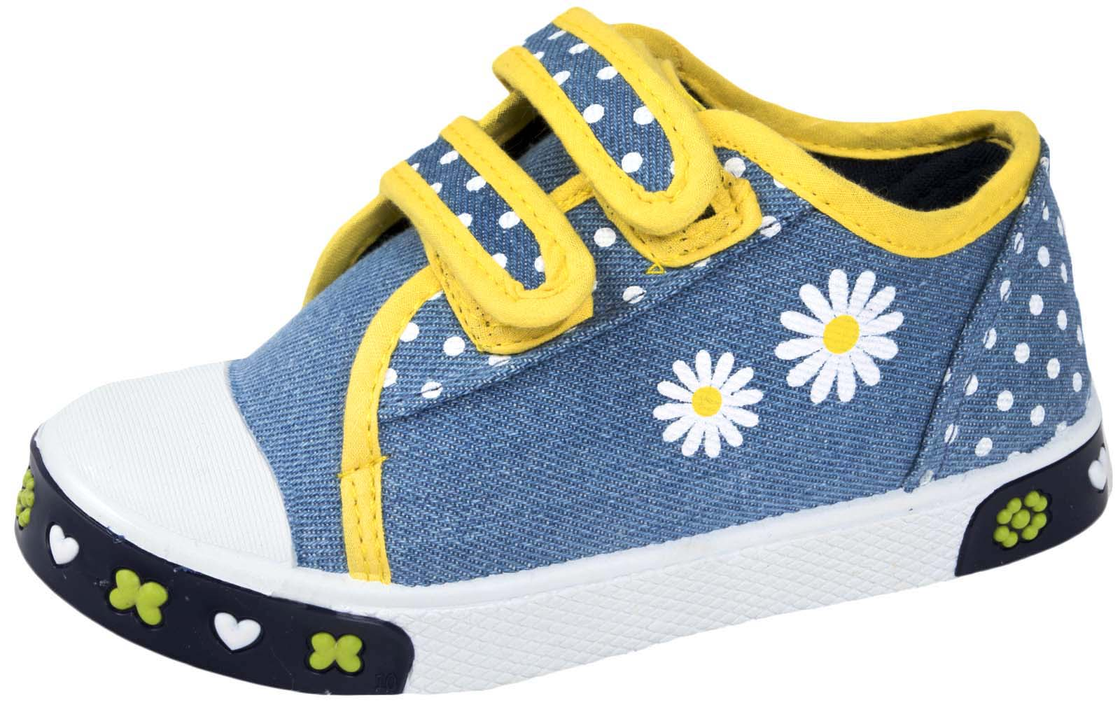 Kids Canvas Pumps Casual Summer Shoes Beach Holiday Skate Trainers Boys Girls