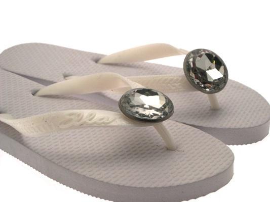 Para Mujer Eva Joya Flip Flop los puestos de Verano Playa Sandalias Zapatos De Mujer Talla 38