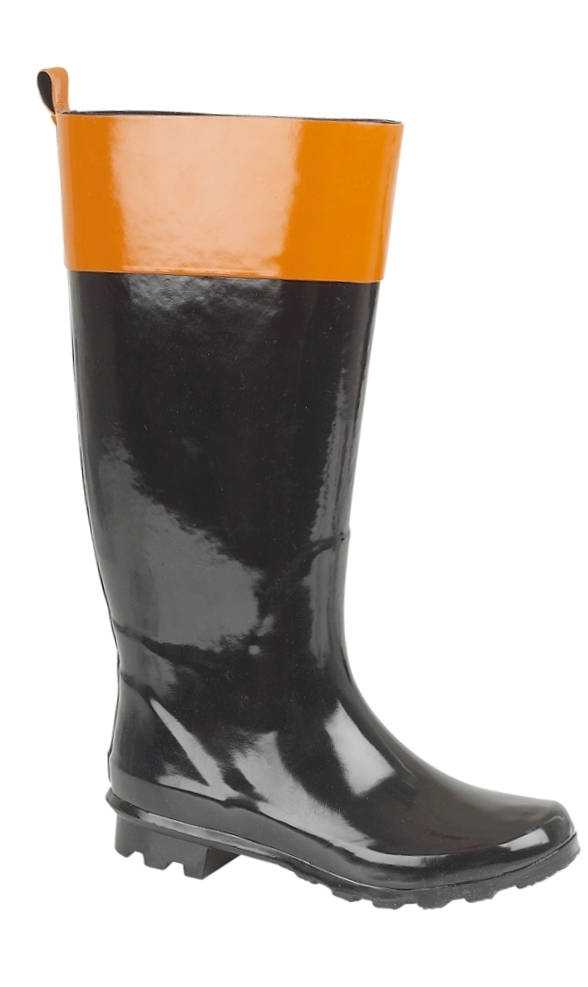 Brilliant  About New Womens Snow Rain Welly Wellington Flat Wide Calf Boots