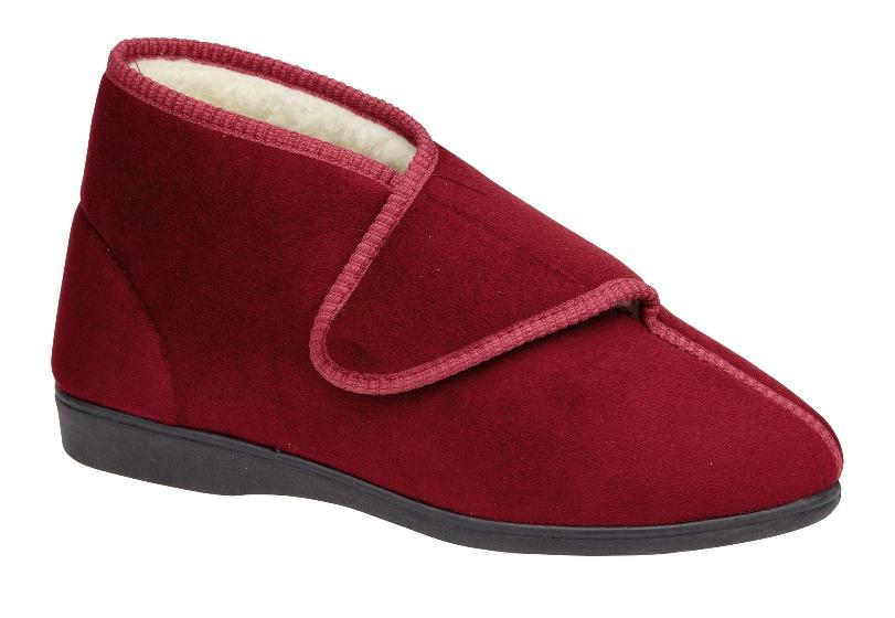 Womens Diabetic Orthopaedic Comfort Slippers Fully Adjustable Boots Shoes Ladies Girls UK 3-8